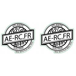 Stickers Atlantic Electron